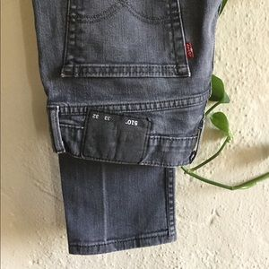 Men's Levi's 510 Grey Skinny Fit Jeans